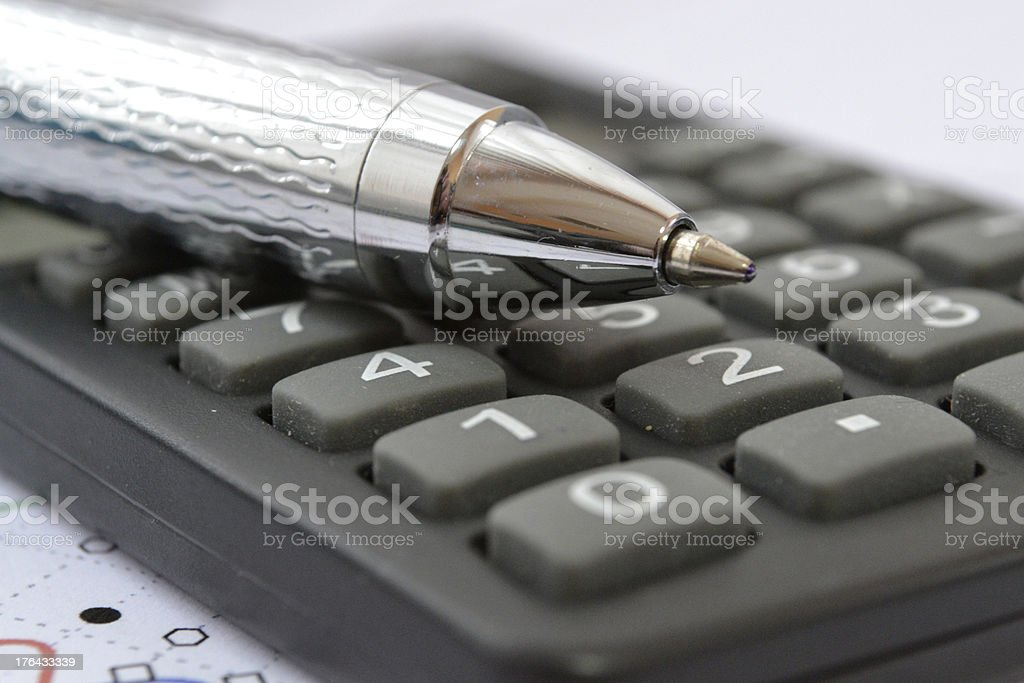 Accounting royalty-free stock photo