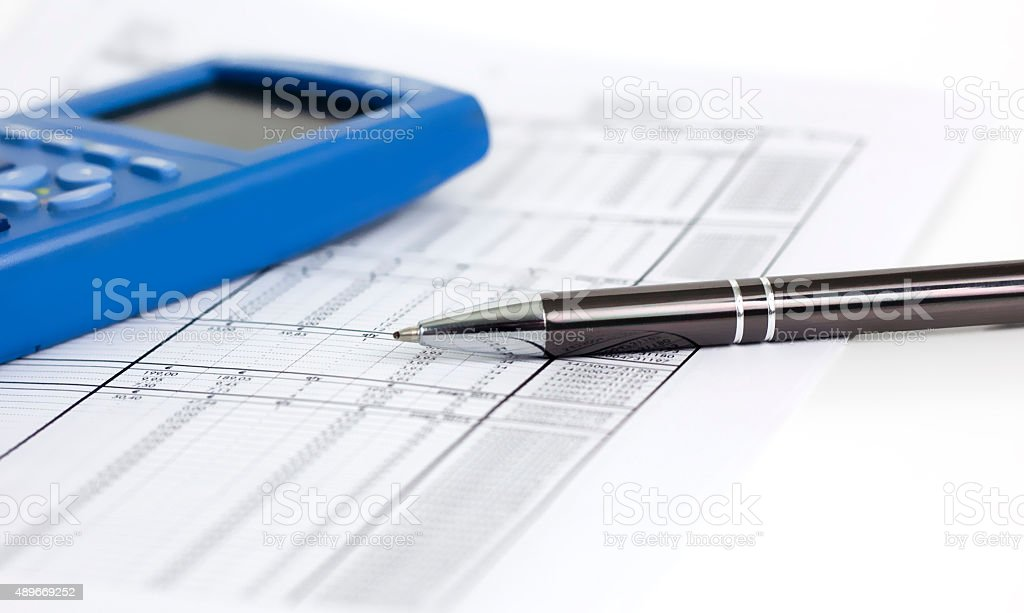 Comptabilité stock photo