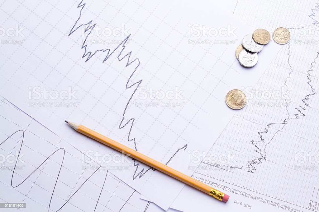 accounting Report stock photo