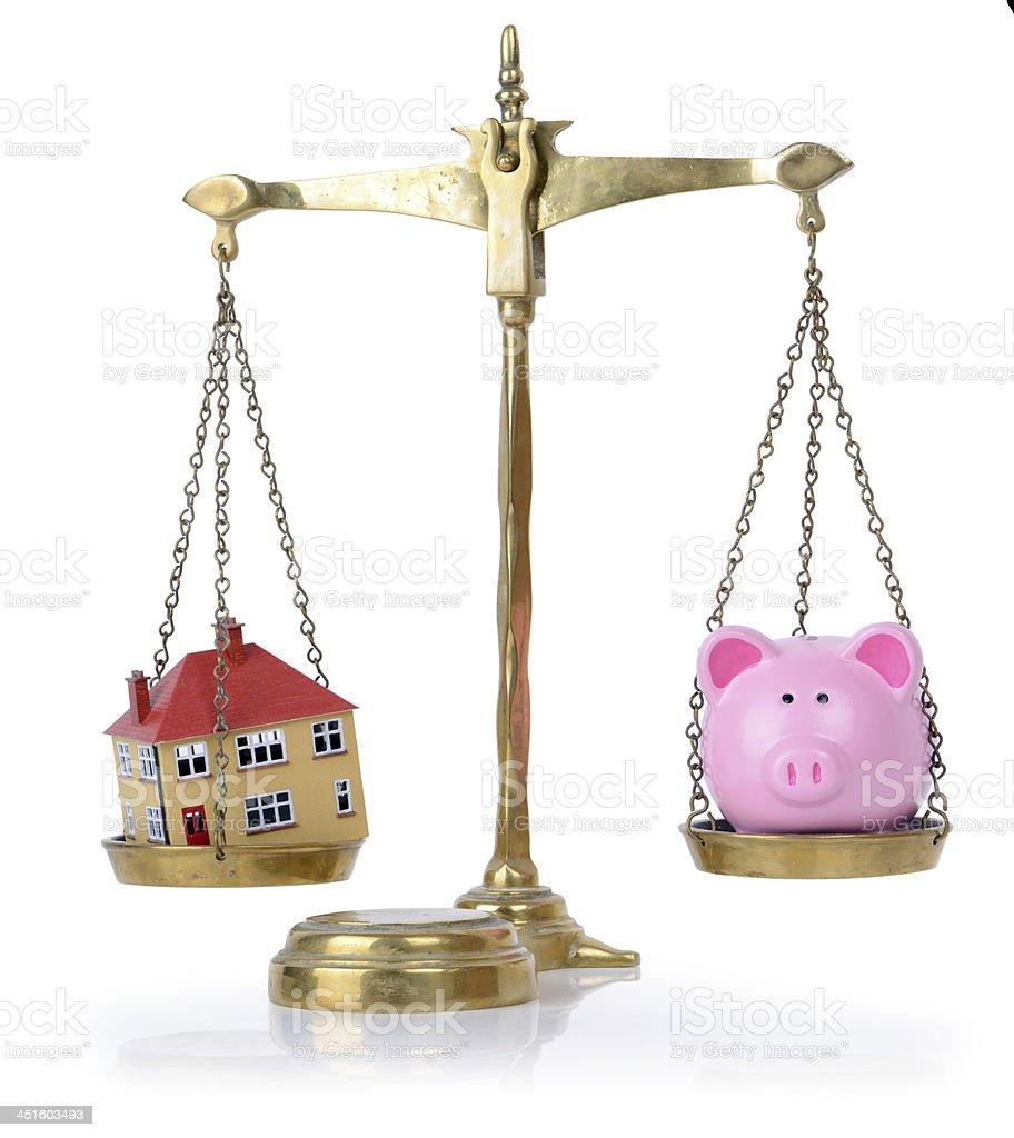 accounts in balance stock photo
