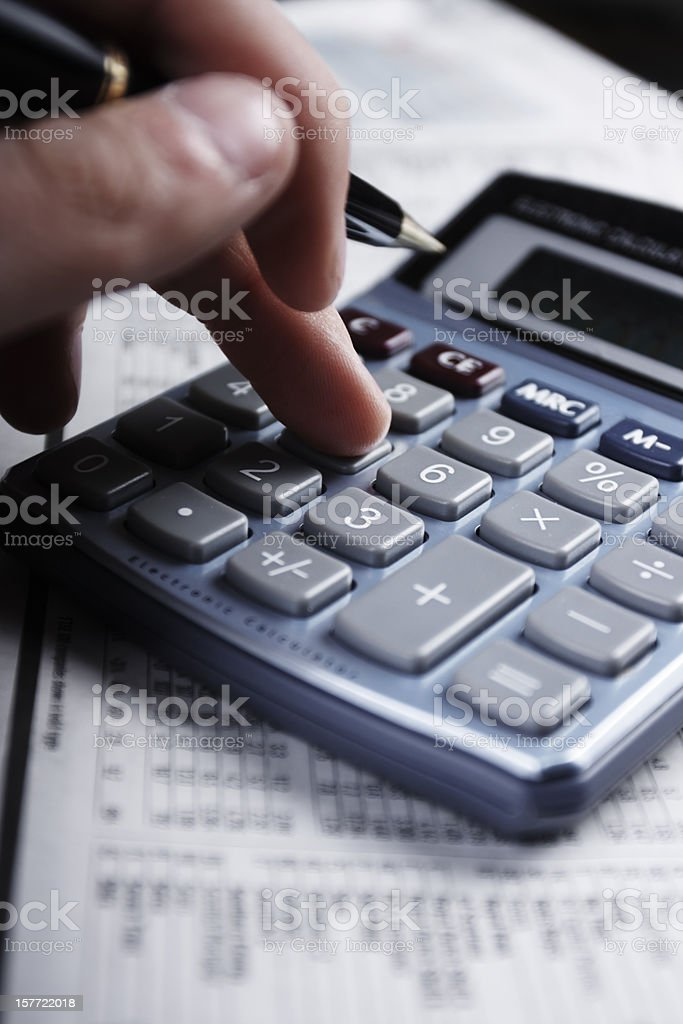 Accounts stock photo