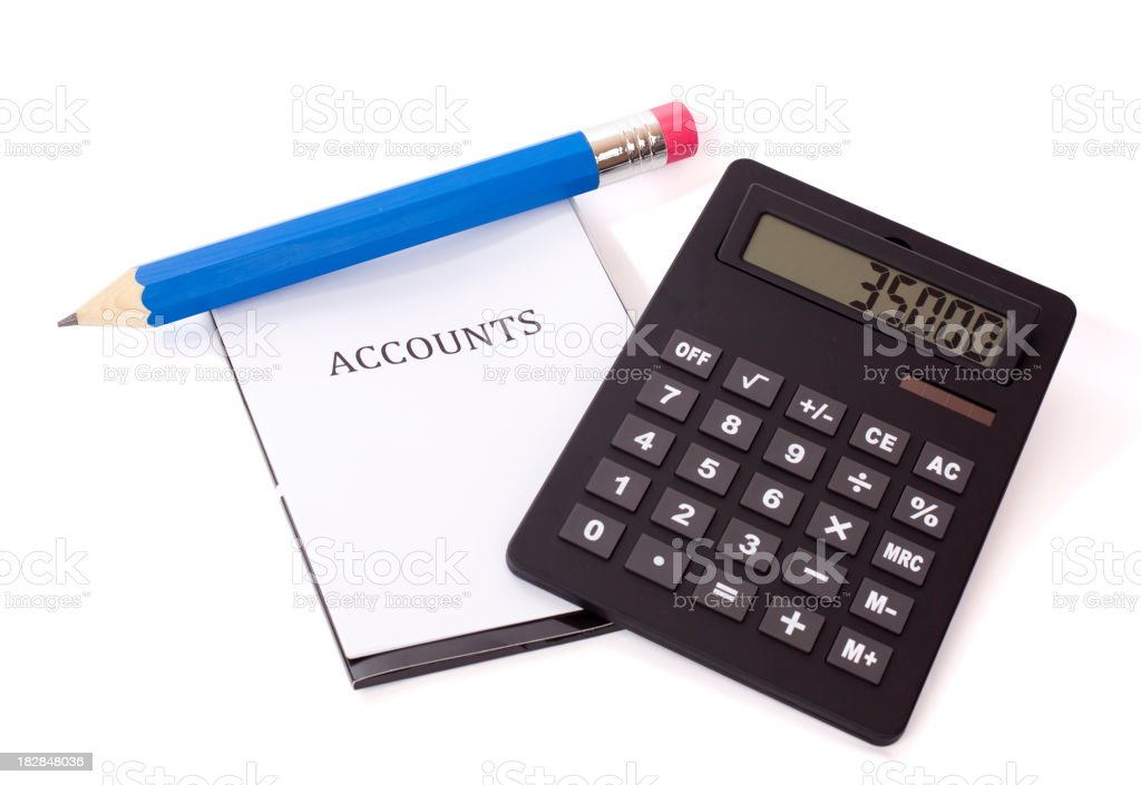 Accounts royalty-free stock photo