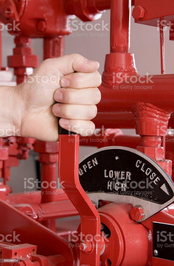 Accumulator stock photo