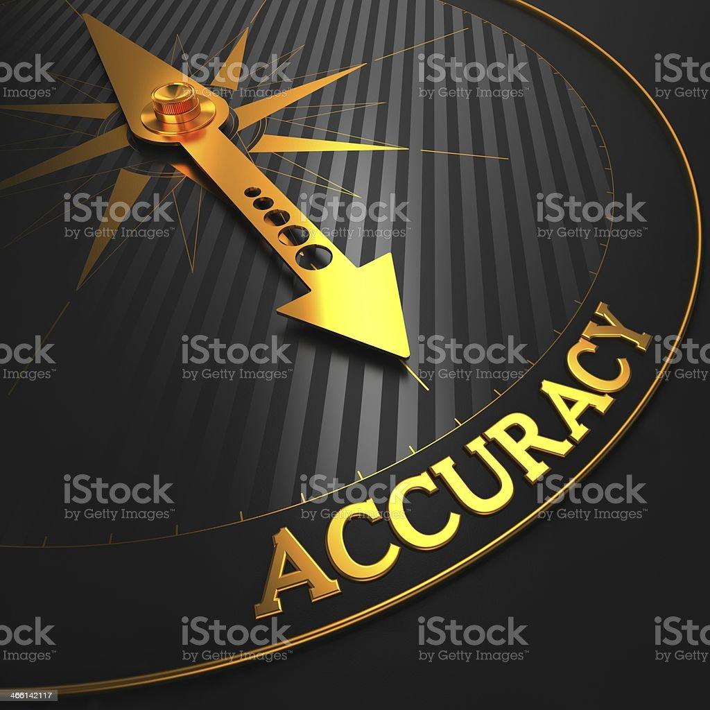 Accuracy Concept. stock photo