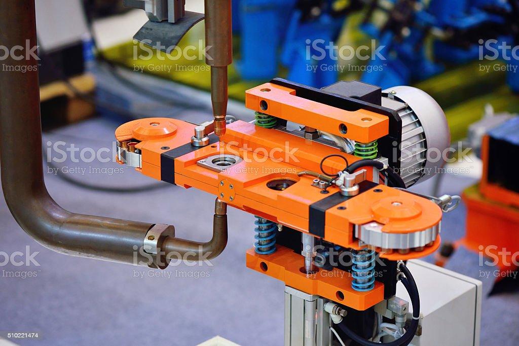 Accuracy Robotic Arm stock photo