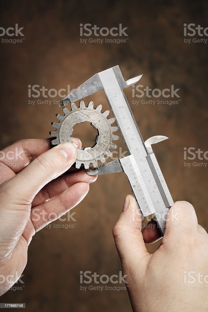 Accurate Measurement royalty-free stock photo