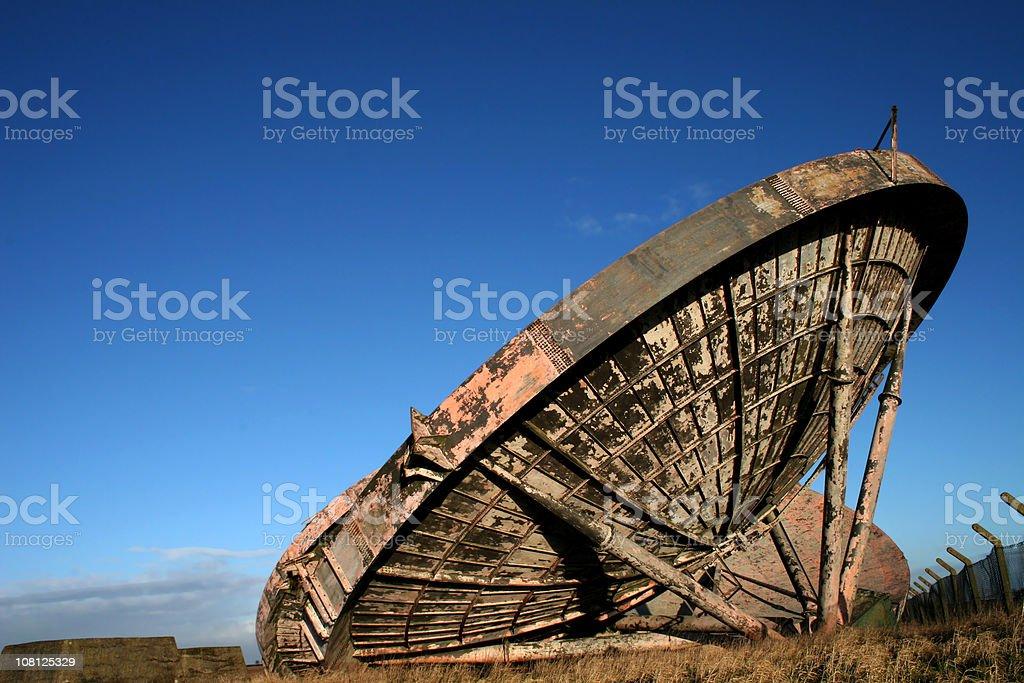 Ace high abandoned telecommunications 3 royalty-free stock photo