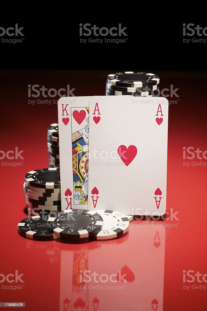 Ace King... royalty-free stock photo
