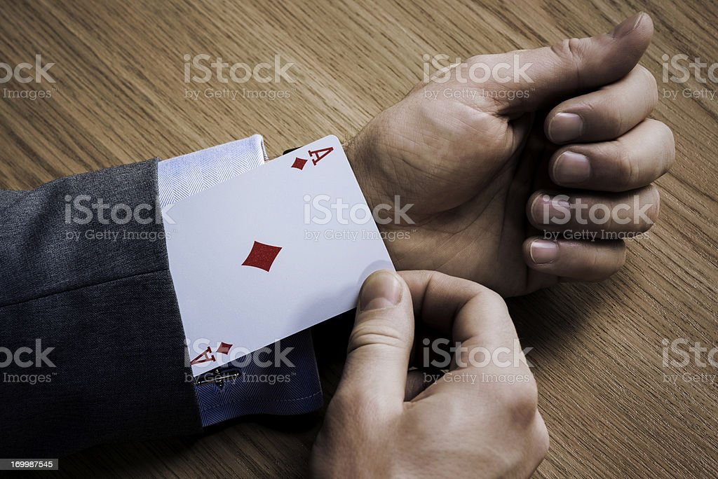 Ace stock photo