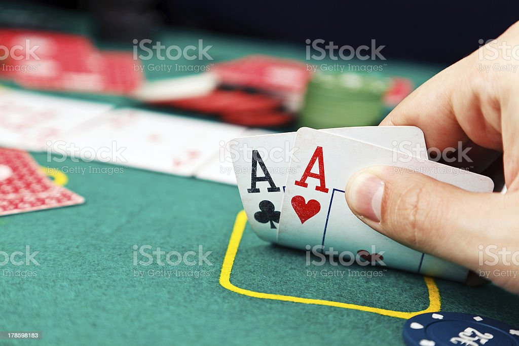 Aces pair royalty-free stock photo