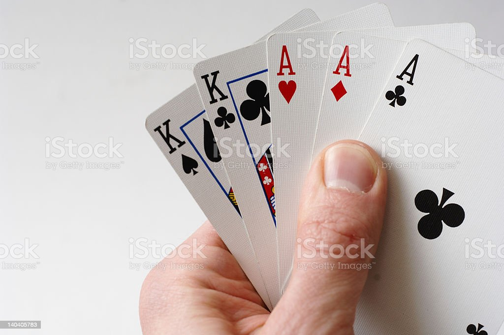 Aces stock photo