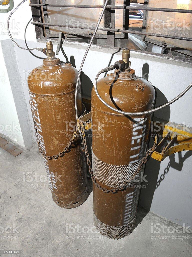acetylene tank royalty-free stock photo