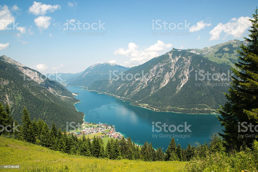 Achensee, Austria stock photo