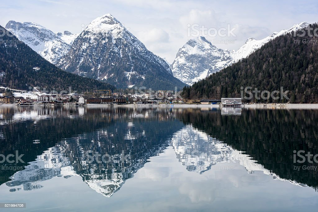 Achensee, Karwendel, Pertisau stock photo