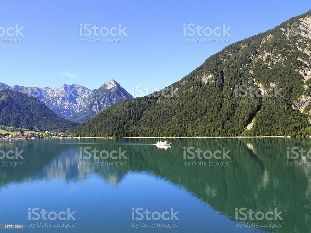 Achensee Lake in Tirol, Austria stock photo