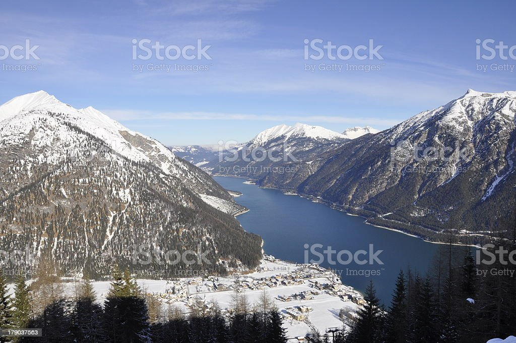 Achensee Pertisau stock photo