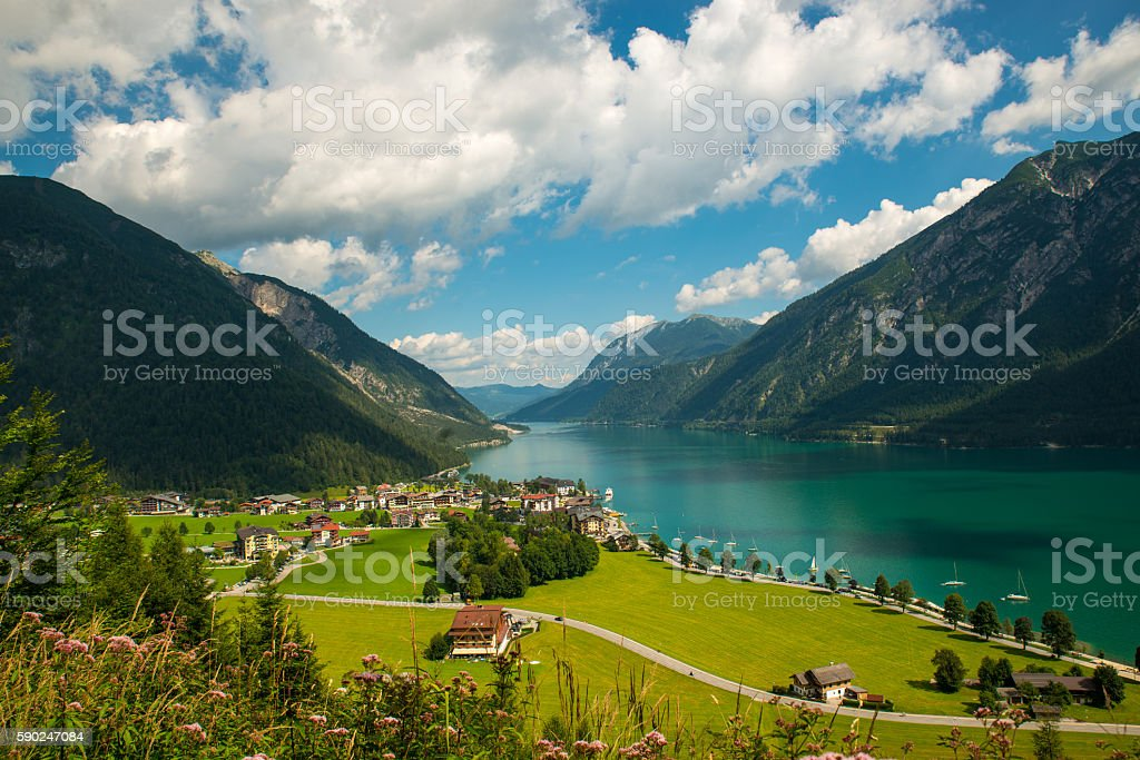 Achensee stock photo
