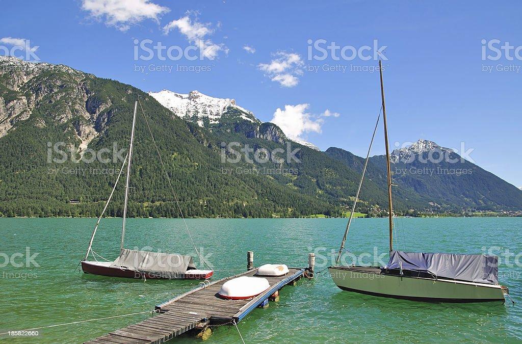 Achensee,Tirol,Austria royalty-free stock photo