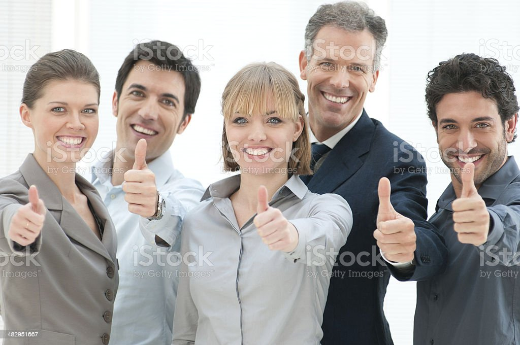 Achievement and success royalty-free stock photo
