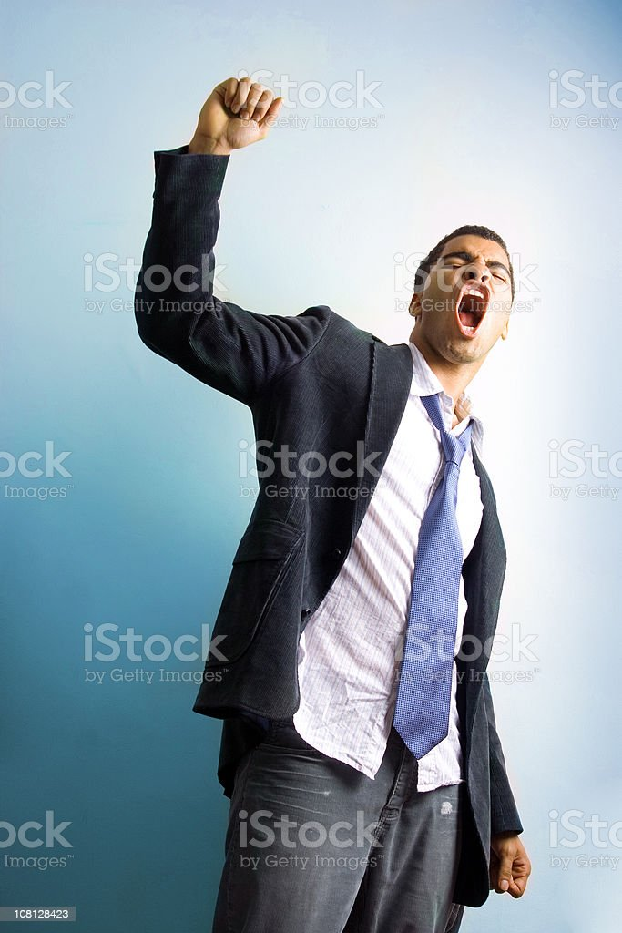 Achievement royalty-free stock photo