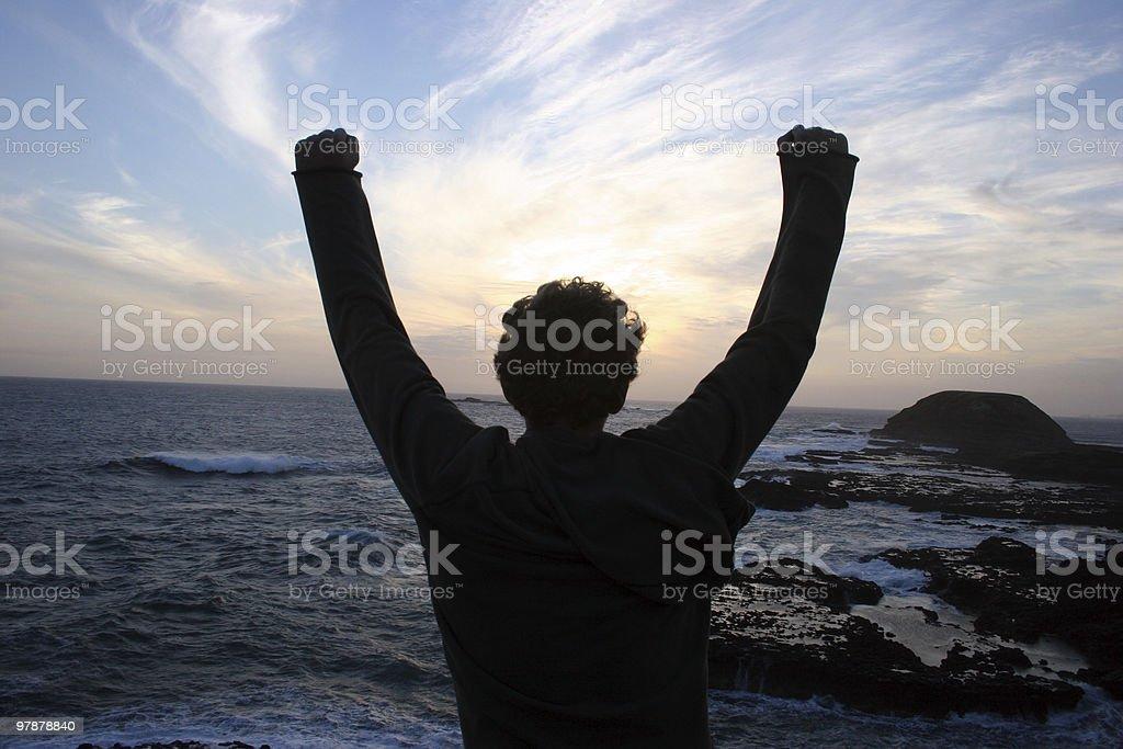 Achievement royalty-free stock photo