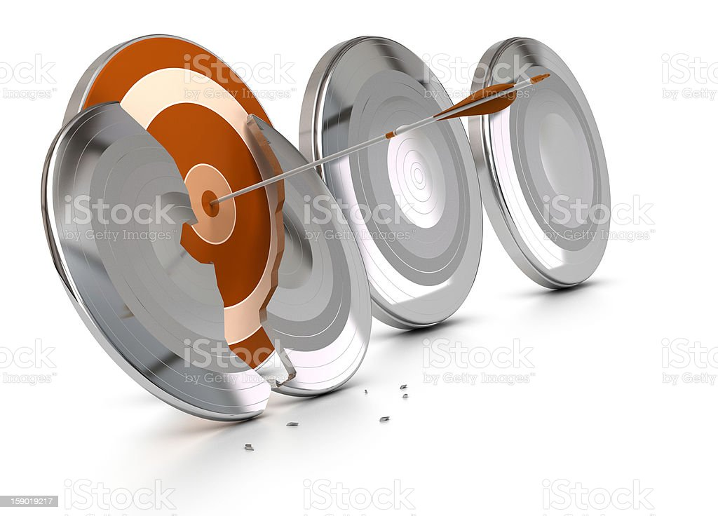 Achieving the unachievable, overcoming difficulties concept stock photo