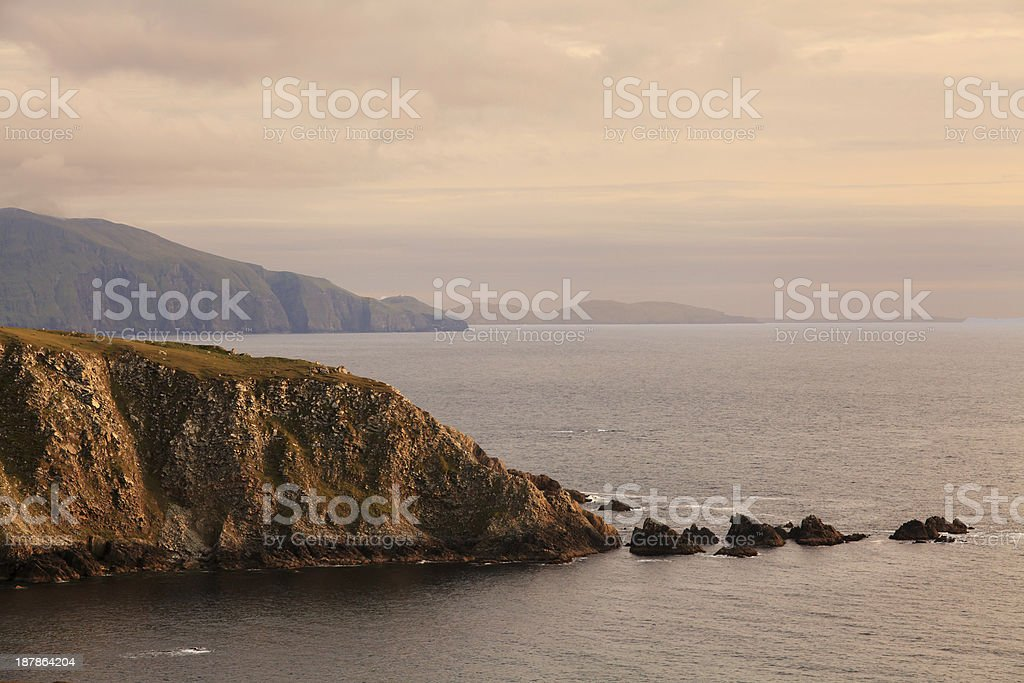 Achill Island, Ireland. stock photo
