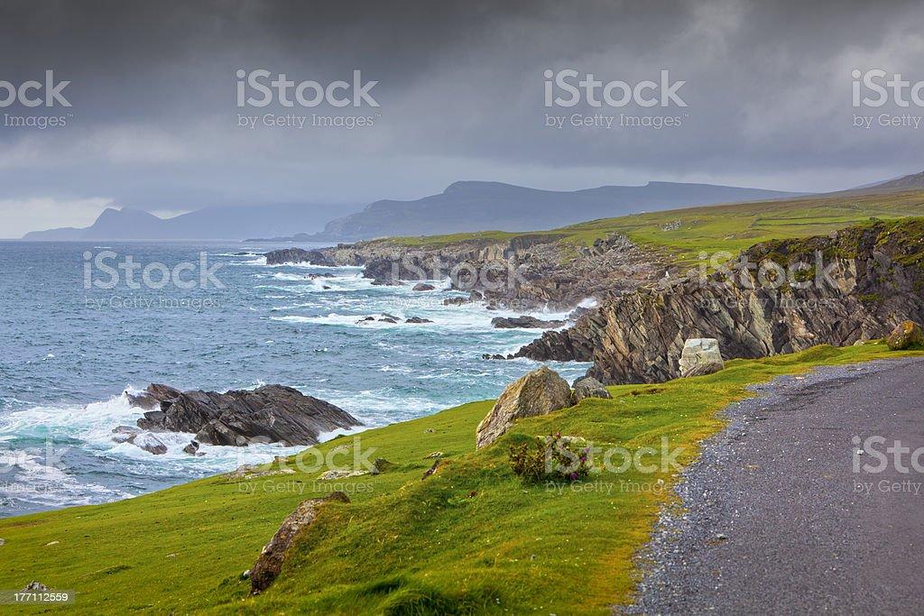 Achill Island Seascape stock photo