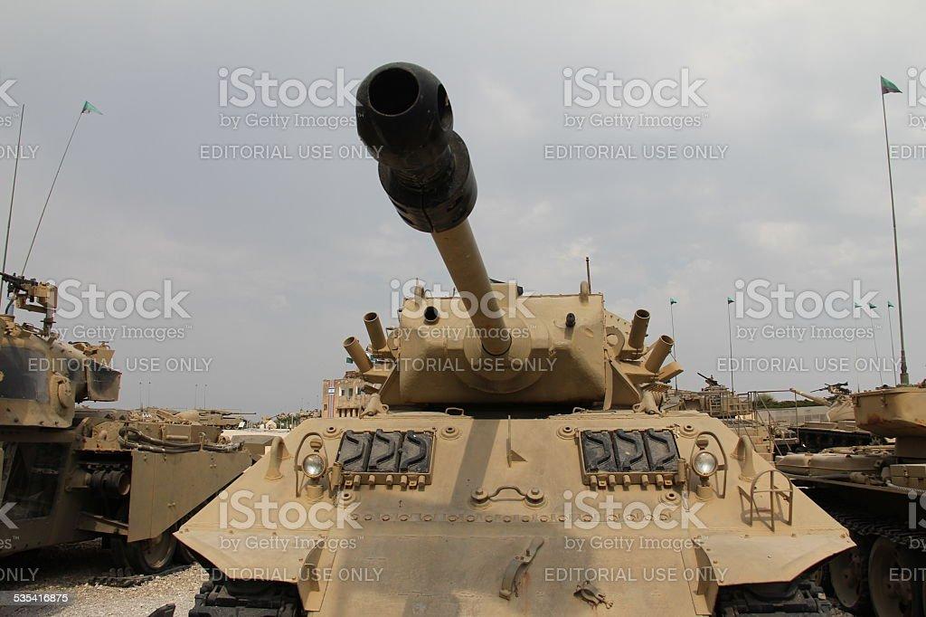 M10 Achilles Tank Destroyer stock photo