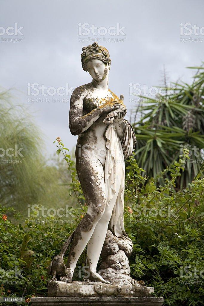 Achillion Palace Muse Statuary royalty-free stock photo