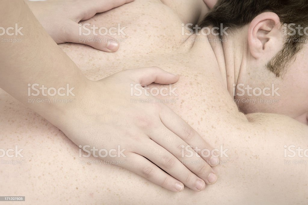 Aching Muscles royalty-free stock photo