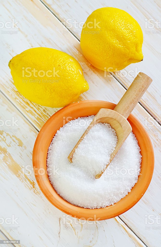 acid and lemons stock photo