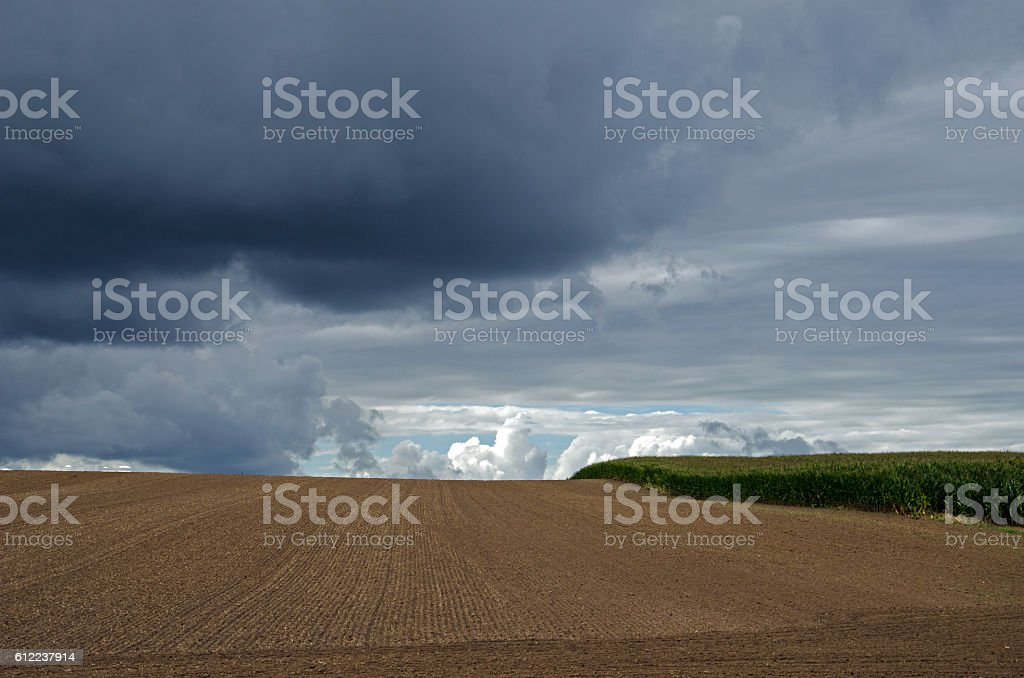 Ackerbau stock photo