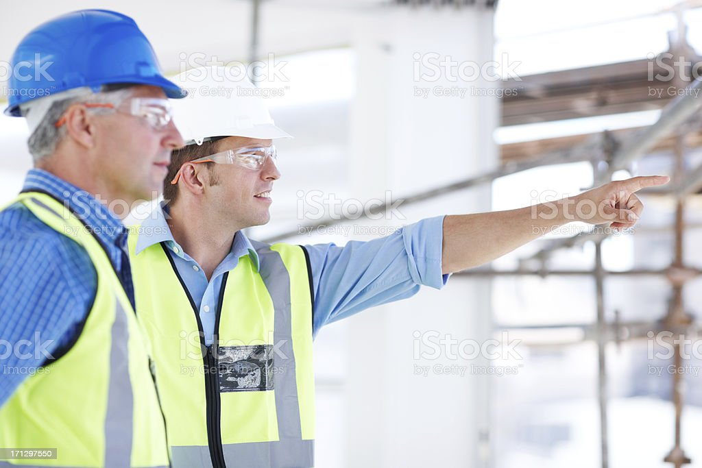 Acknowledging the hard work of many workers royalty-free stock photo