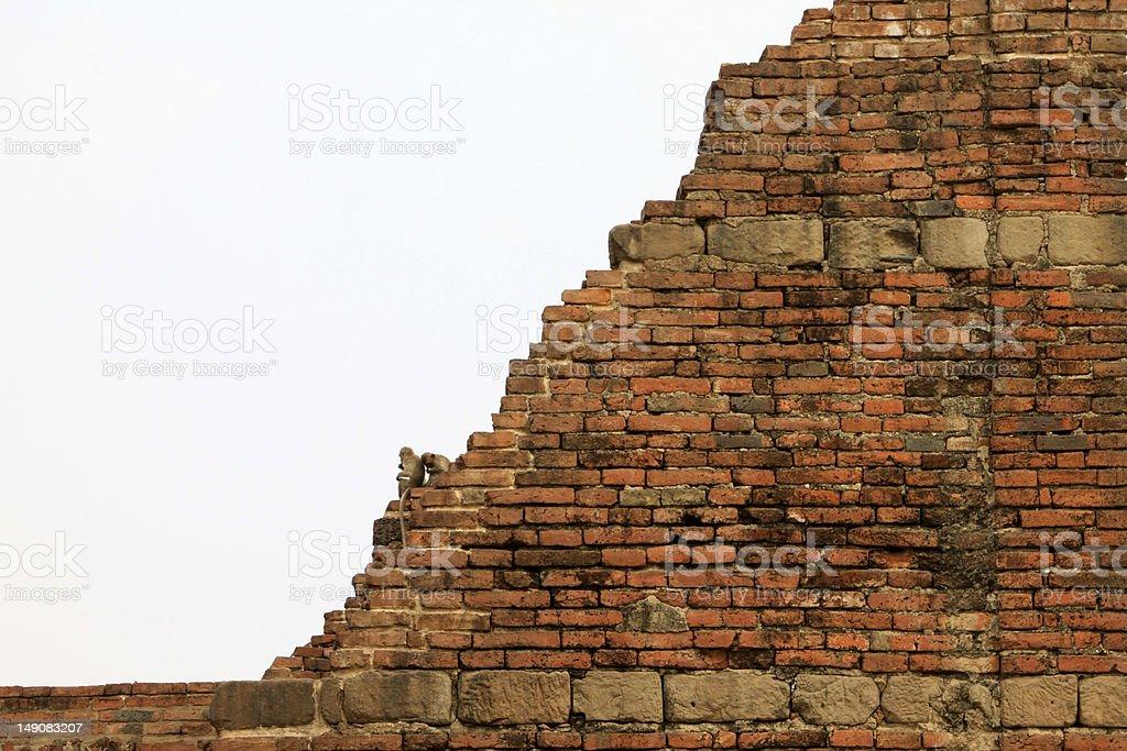 Acncient Brick stock photo
