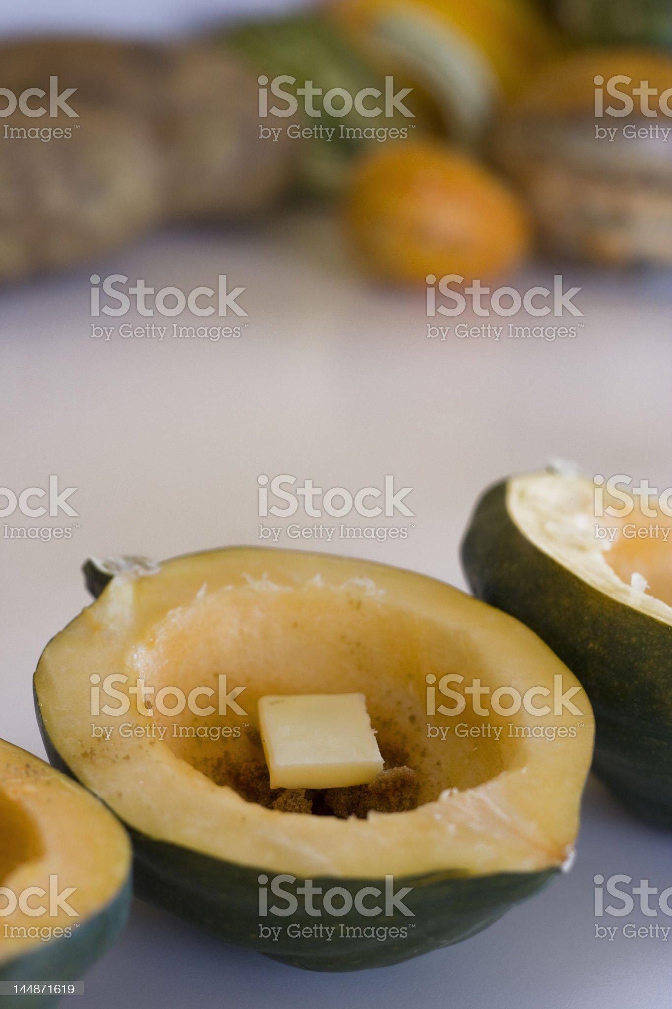 Acorn Squash royalty-free stock photo
