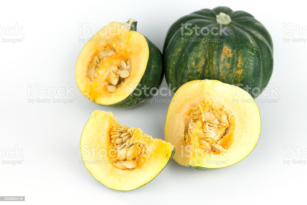 acorn squash, pumpkin from Mexico stock photo