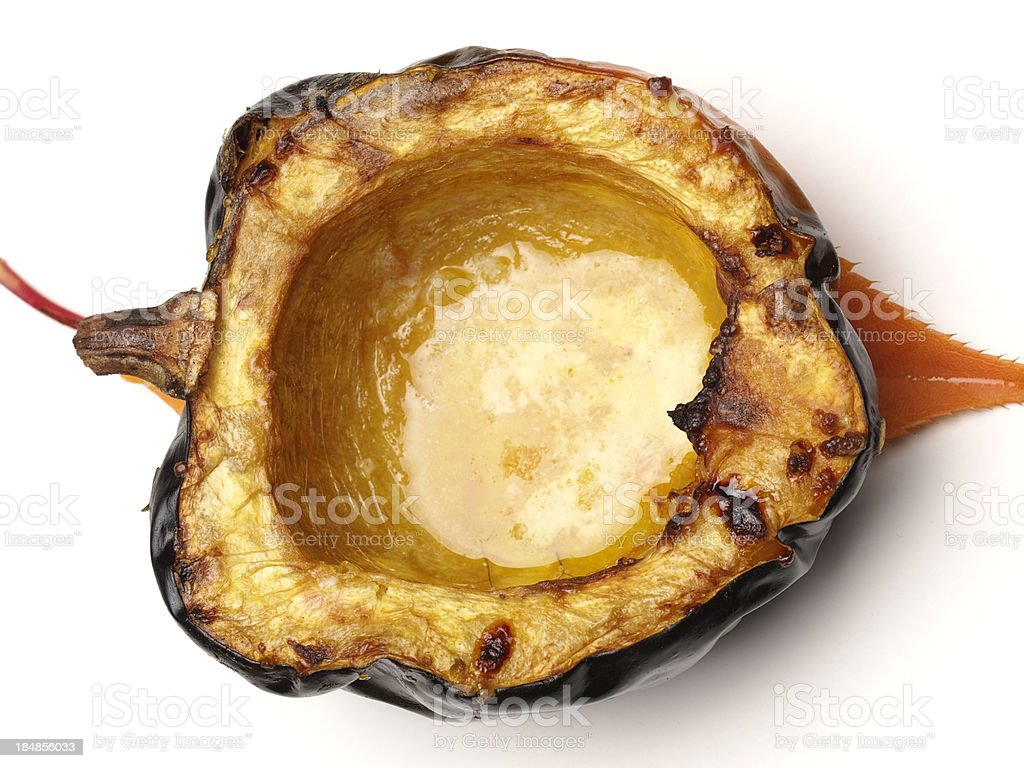 Acorn Squash Roasted stock photo