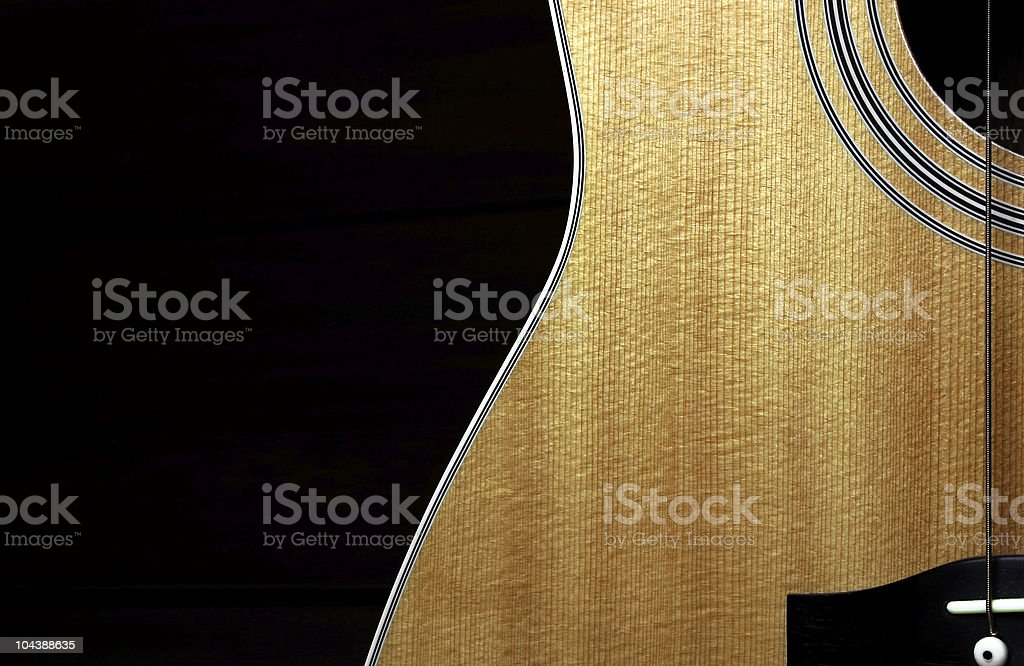 acoustic 01 royalty-free stock photo
