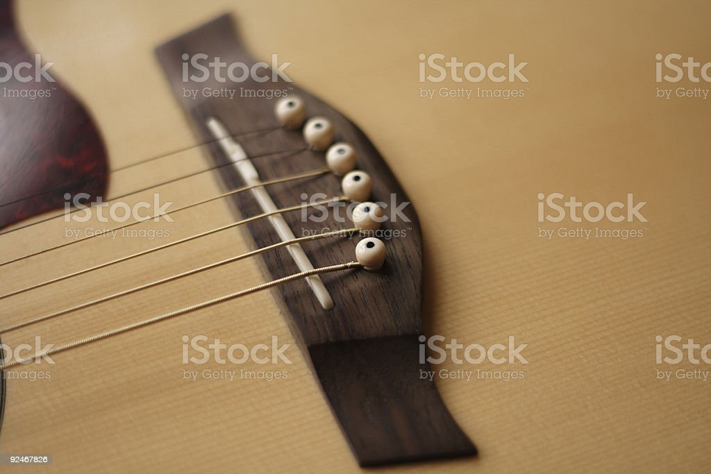 acoustic bridge royalty-free stock photo