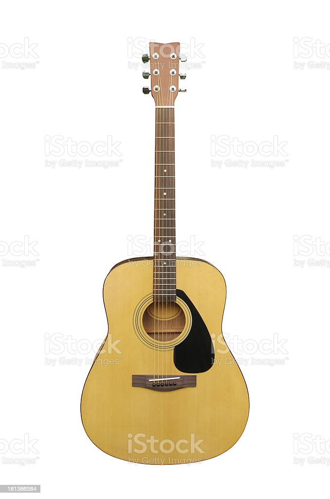 acoustic classic guitar stock photo