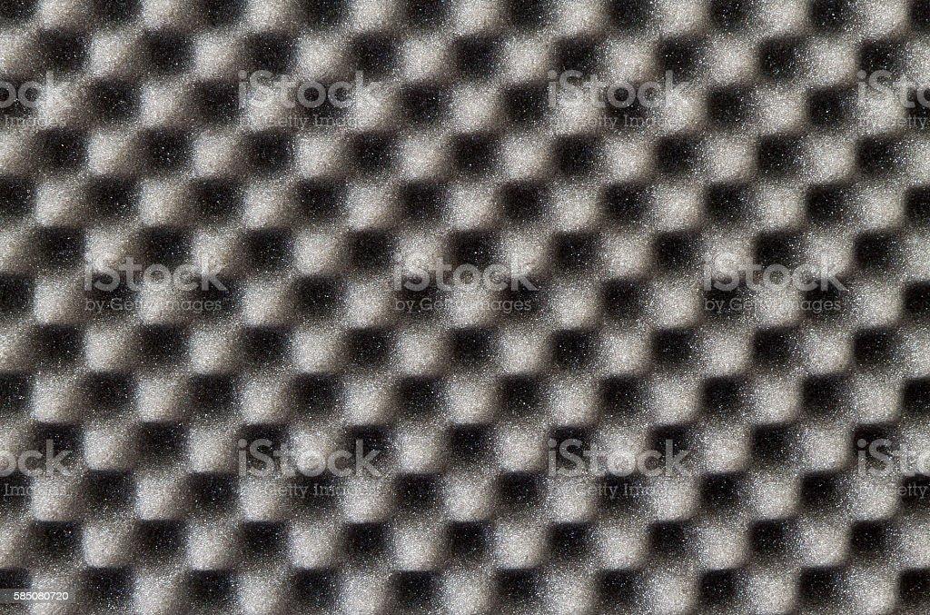 Acoustic foam stock photo