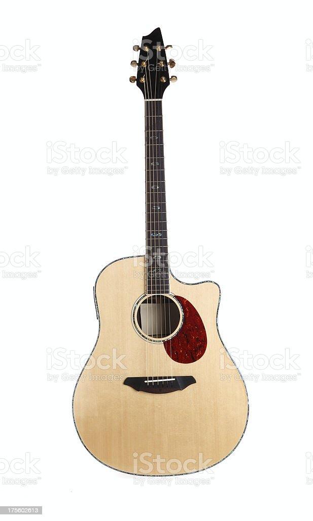 Acoustic Folk Guitar royalty-free stock photo