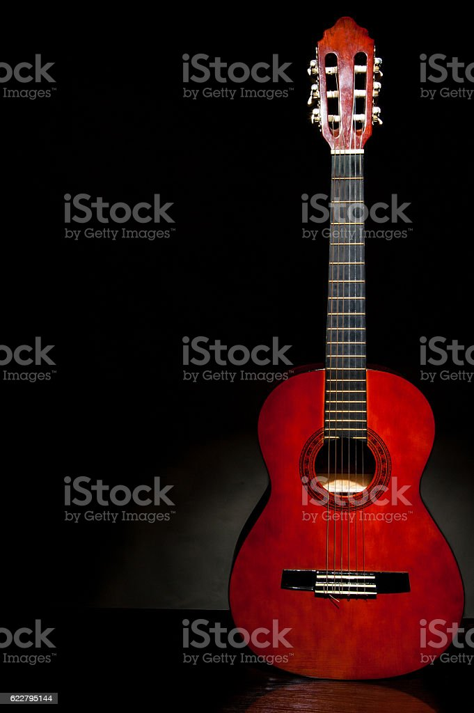 acoustic guitar, stringed instrument, stock photo