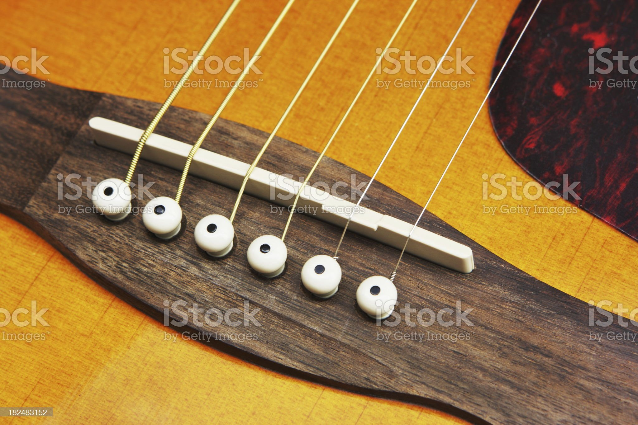 Acoustic Guitar Strings Musical Instrument royalty-free stock photo
