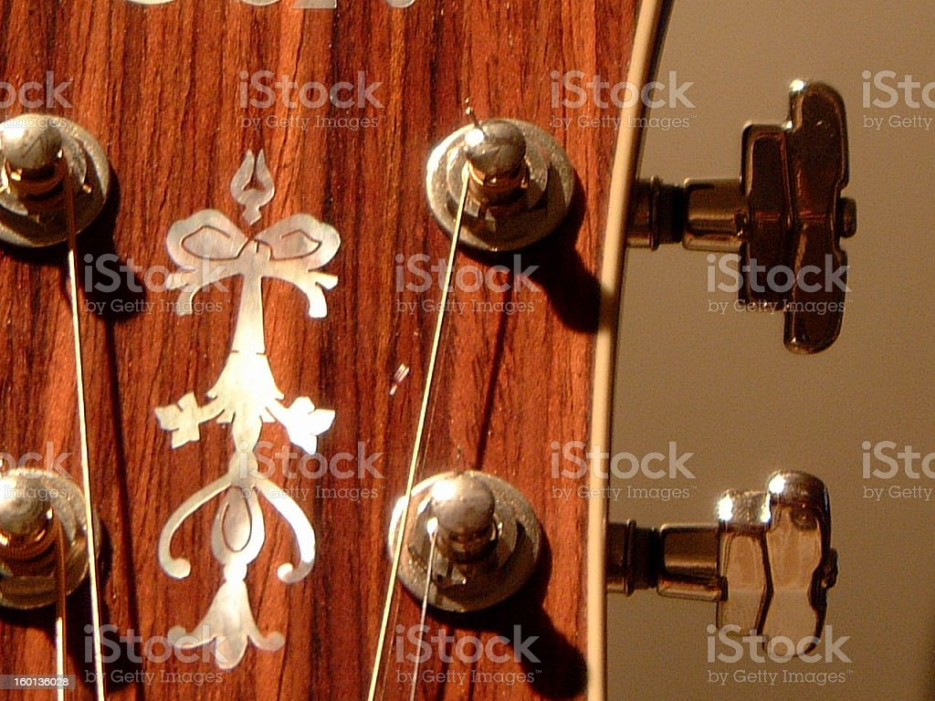 Acoustic Guitar1 royalty-free stock photo