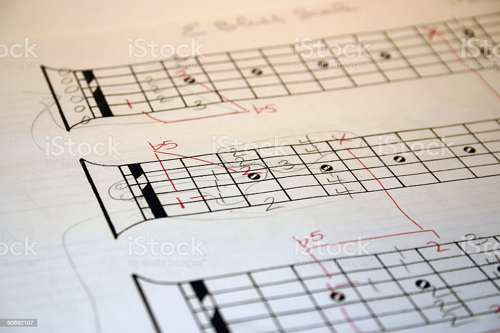 Acoustic Music royalty-free stock photo