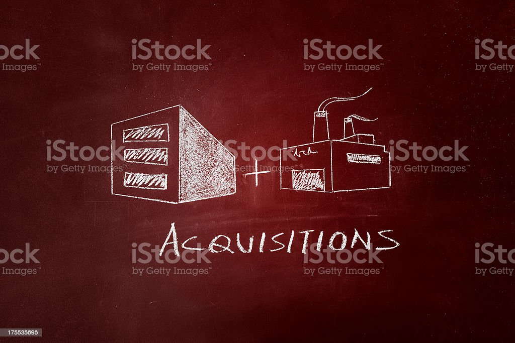 Acquisitions stock photo