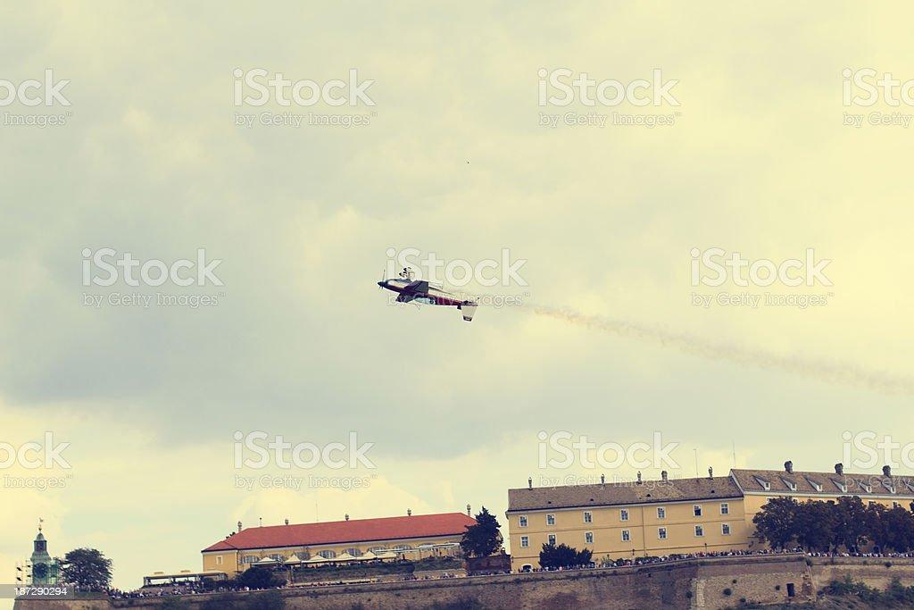 Acrobat airplane royalty-free stock photo