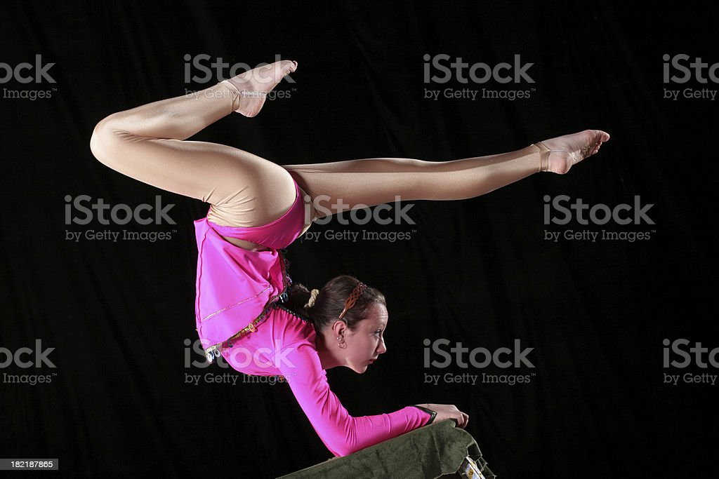 Acrobat royalty-free stock photo